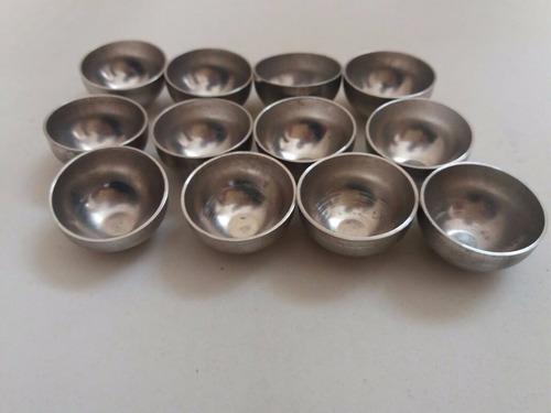 forminha para mini quindim festa buffet em aluminio 24 peças
