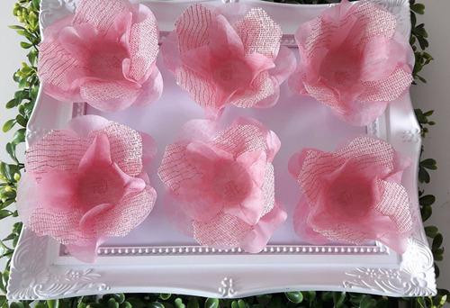 forminhas de doces finos rosa,festas,debutantes,casamento