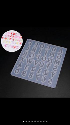 forminhas de resina letra