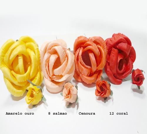 forminhas, flores em tecido