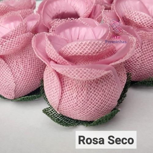 forminhas para doces finos botao de rosa luxo festas - 15 un