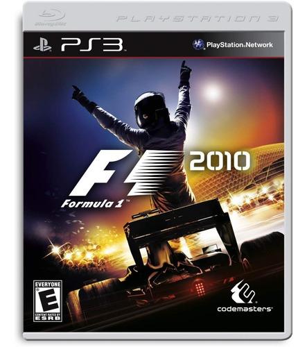 fórmula 1 2010 playstation 3 brinde outro jogo