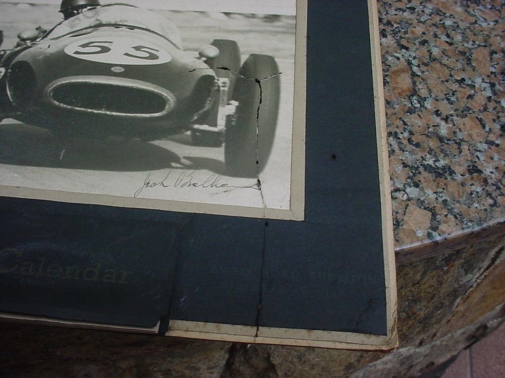 Calendario 1958.Formula 1 Calendario 1958 Jack Brabham Orig Cooper Climax