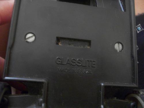 formula 1 glasslite anos 80 - 20 cm x 11 cm -- fricção ok --