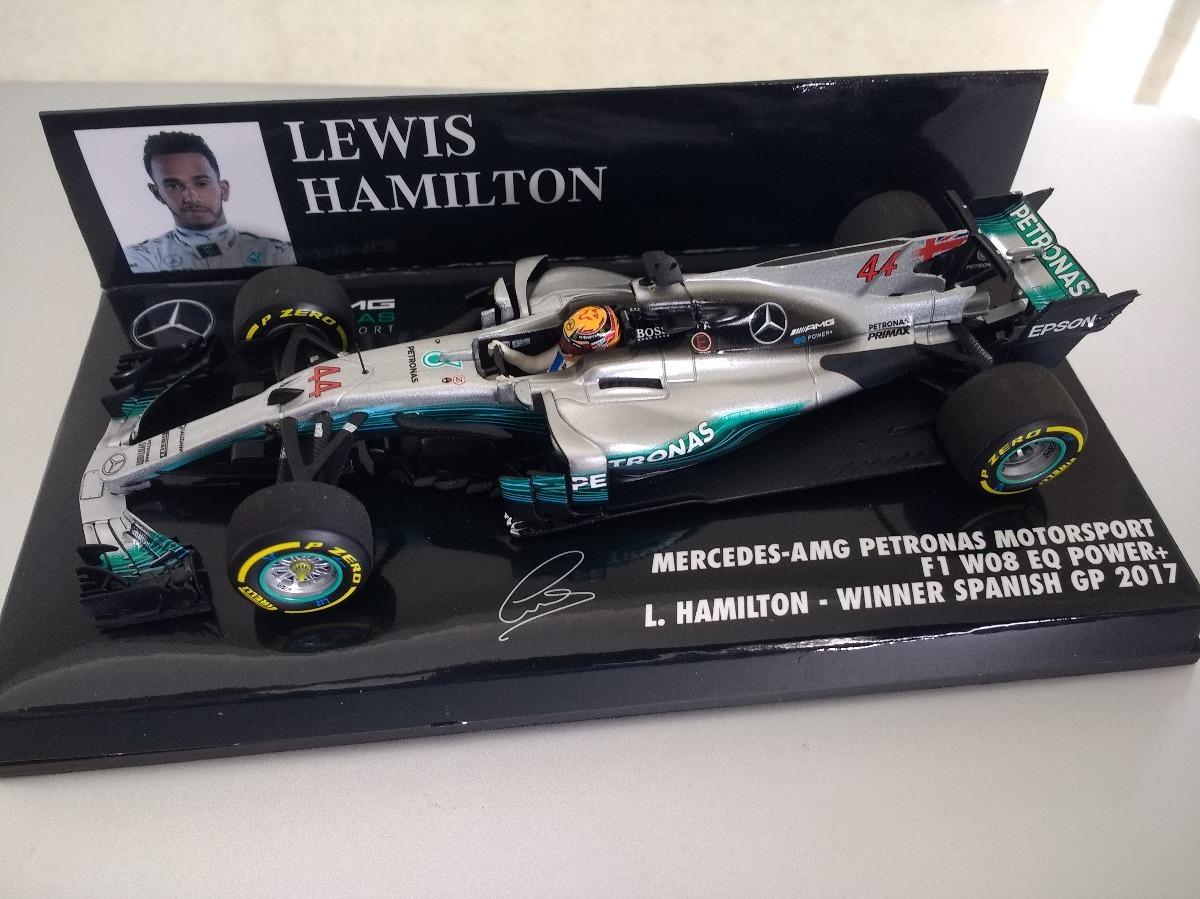 Mercedes W08 Eq Power Lewis Hamilton Formula 1 F1 1:43 scale die-cast Coche de juguete