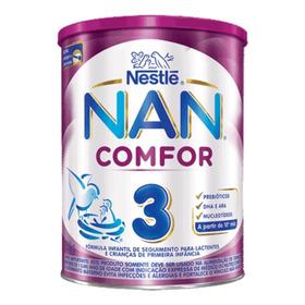Fórmula Infantil Em Pó Nestlé Nan Comfor 3 Em Lata De 800g