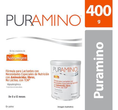 fórmula infantil enfamil puramino 0-12 meses, lata de 400 g