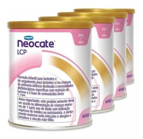 fórmula infantil neocate sem sabor lata c/ 400 g