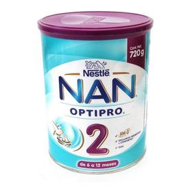 Fórmula Para Lactantes En Polvo Nestlé Nan Optipro 2 En Lata De 720g