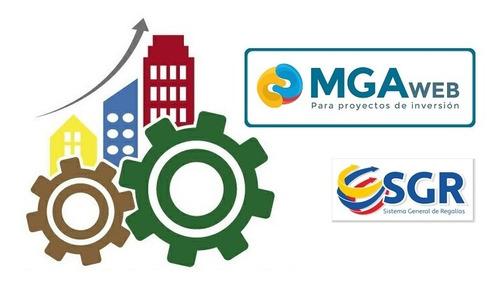 formulación y seguimiento proyectos del sgr, mga y gesproy