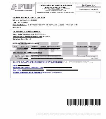 formulario ceta sin clave/sin titular