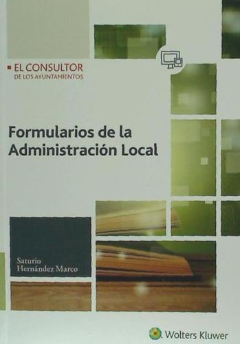 formularios de la administración local(libro la actividad de