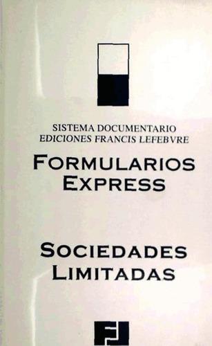 formularios express sociedades limitadas 2010(libro )