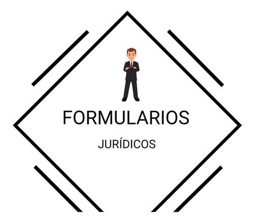 formularios jurídicos
