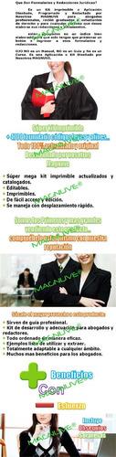 formularios redacciones documentos juridicos legales abogado