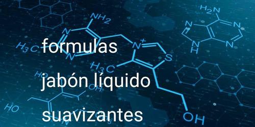 formulas de jabón líquido y suavizante
