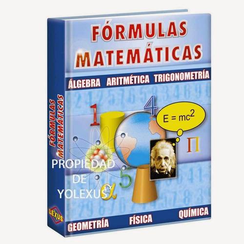 fórmulas matemáticas algebra,aritmetica,trigonomteria-origin