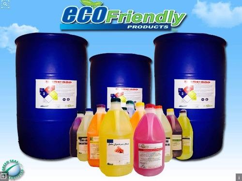 formulas para elaborar productos de limpieza