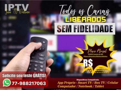 forneço +d 50 mil conteúdos na sua smart tv e tv box