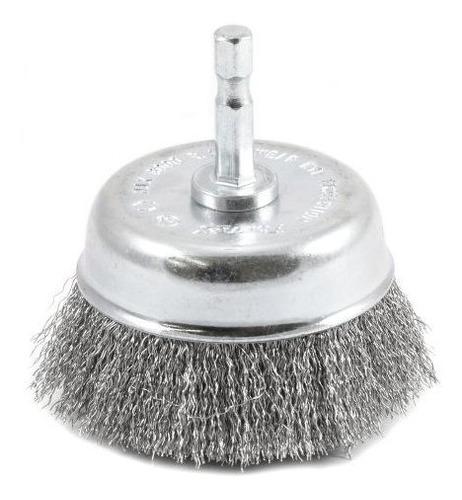 forney 72732 cepillo de copa de alambre fino prensado con ca