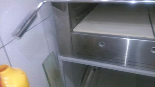 forno a gás de inox