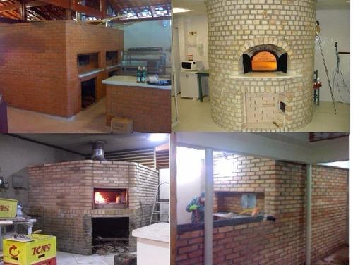 forno a lenha em alvenaria para pizzarias 11 977705965