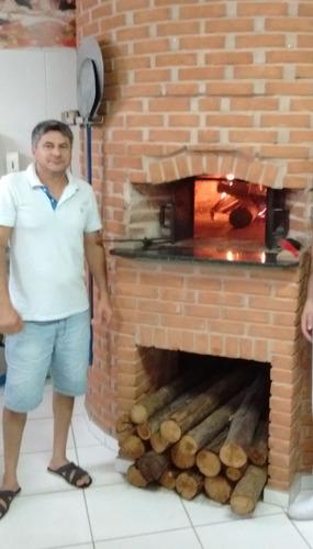 forno a lenha para pizzaria padaria e restaurante