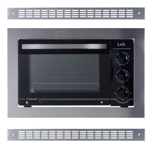 forno de embutir + coifa + cooktop 5 bocas - frete grátis