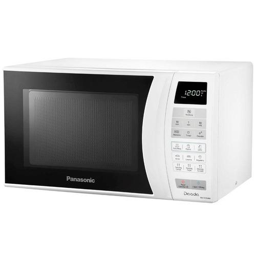 forno de micro-ondas panasonic nn-st254 branco - 21 litros