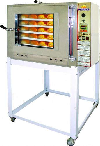 forno de padaria turbo a gás progás 5 esteira painel digital