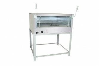 forno de pizza italia roma  eletrico 80x60 pintado