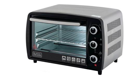 forno elétrico 16l 1200w até 250ºc black+decker 110v - ft16