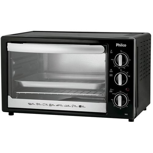 forno elétrico 36 litros temperatura ajustável 110v - philco