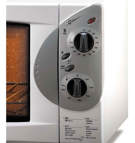 forno elétrico 44l fischer grill bancada - 127v