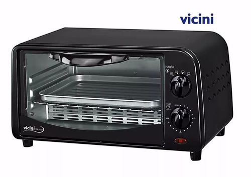 forno elétrico 9 litros - vicini epv-8009 - 110 v  forninho