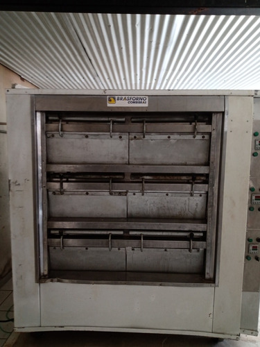 forno elétrico brasforno 4 assadeira por câmara 60*40
