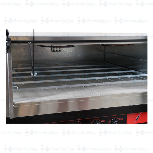 forno elétrico c/ hélice para pizzarias, restaurantes *