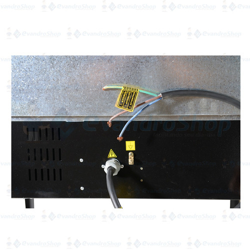 forno elétrico com cavalete 90cm*