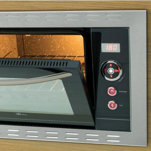 forno elétrico de embutir fischer gratinatto 44 litros 220v