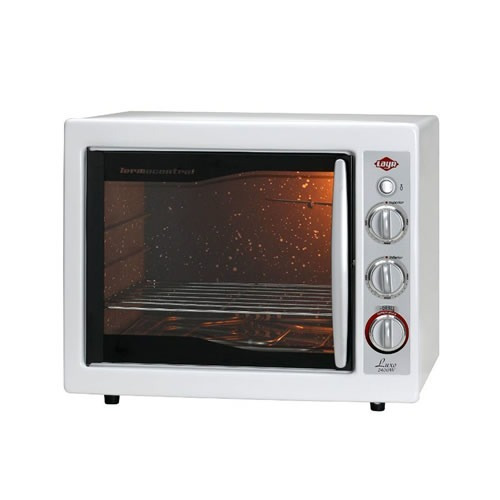 forno elétrico luxo clean 2400w branco - 110v