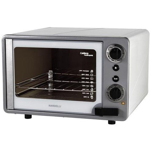 forno elétrico nardelli new calábria grill, 45l, branco 220v