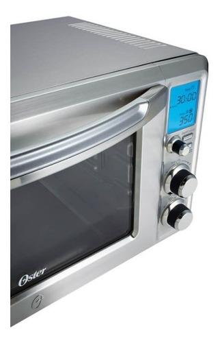 forno elétrico oster gourmet collection 220v cinza 22 litr