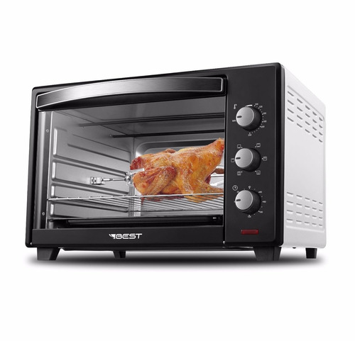 forno elétrico plus 48 litros com espeto grill best