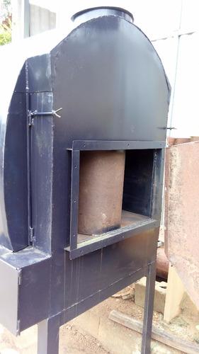 forno foguim indireto a lenha - secar pimenta do reino