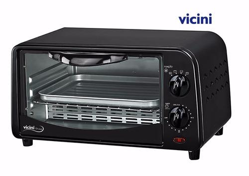 forno forninho elétrico 9 litros - vicini epv-8009 - 110 v