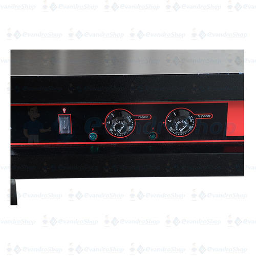 forno industrial 90cm com cavalete *