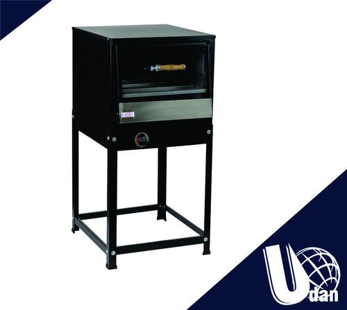 forno industrial com cavalete 150 litros com tampa de vidro