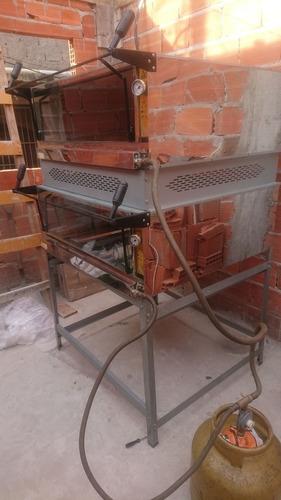 forno industrial duas camaras 95x95 metalmaq a gás