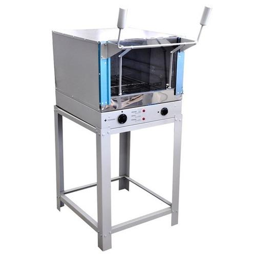 forno para pizza e salgados eletrico 45x60 pintado
