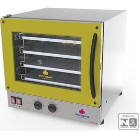 Forno Turbo Eletrico 4 Assad Fast Oven Progás Amarelo